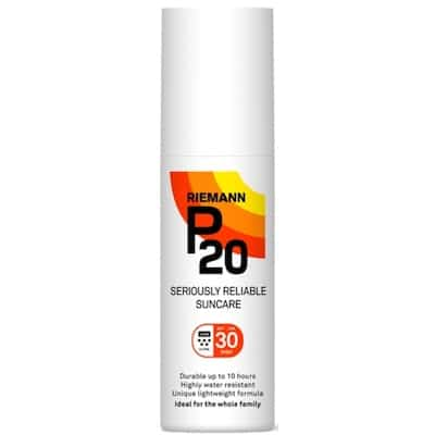 P20 Riemann Sun Protection Spray SPF