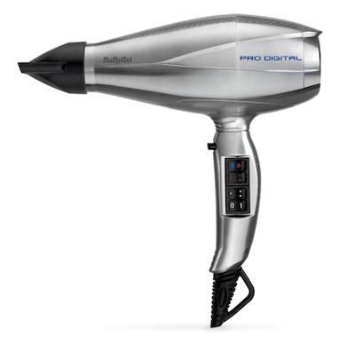 Babyliss Hårtørrer 6000E Pro Digital 2200 W - Effektiv styling af håret