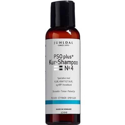 Juhldal PSO Shampoo No. 4 - Plejende, styrkende og genopbyggende shampoo
