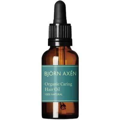 Björn Axén Organic Caring Hair Oil - Skånsom dermatologisk testet hårolie