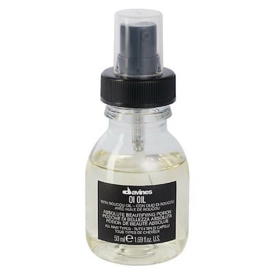 #6 Davines Oi Oil Absolute Beautifying Potion - Fantastisk beskyttende hårolie
