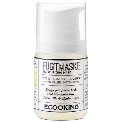 Ecooking Fugtmaske - Understøtter hudens sundhed