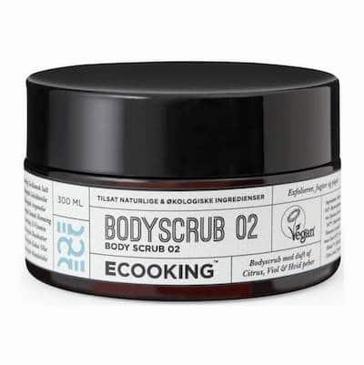 Ecooking Body Scrub 02 - Naturlig og økologisk pleje