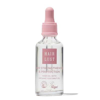 #3 HairLust Hair Strengthening & Protection Hair Oil - Bedste økologiske, plejende hårolie
