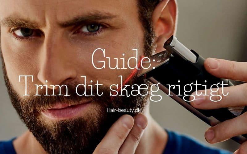 guide trim skægget korrekt