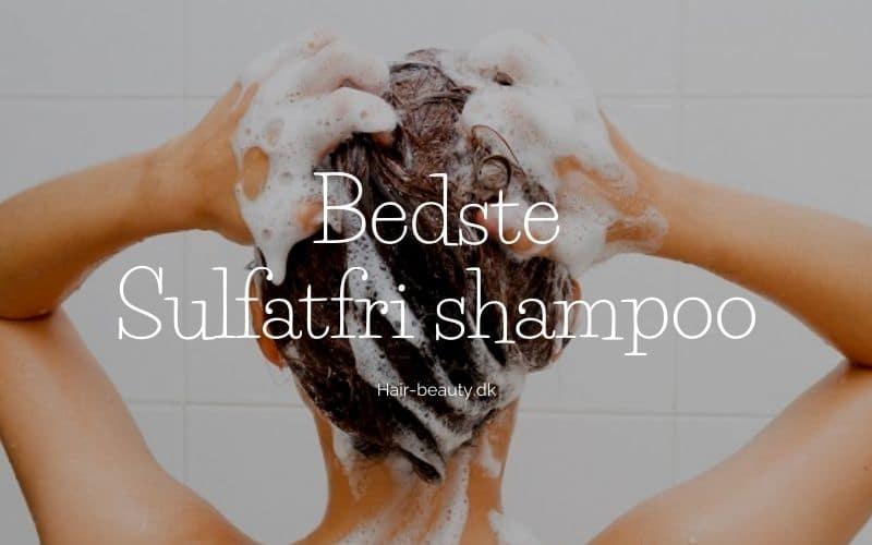 bedste sulfatfri shampoo test