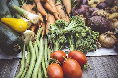 grøntsager med vitaminer