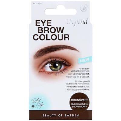 Depend Øjenbrynsfarve - Brunsort